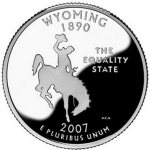 Wyoming Coin Heads